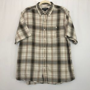 North River Outfitters Short Sleeve Button Down XL
